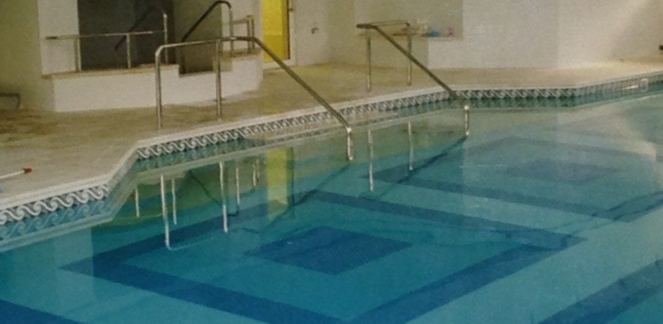 Portfolio Beautiful Mosaic Tiled Pool In An Exclusive Private Health Club In London Serena